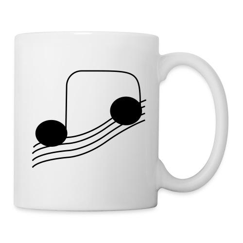 tasse musical - Mug blanc