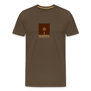 Floppy Generation - C64 - Men's Premium T-Shirt
