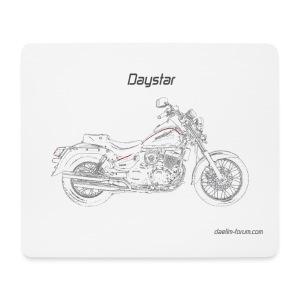 Daelim Daystar Zeichnung Mousepad (mit Forum URL) - Mousepad (Querformat)