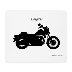 Daelim Daystar Schattenriss Mousepad (mit Forum URL) - Mousepad (Querformat)