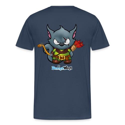 Robin Hood Wolf - Men's Premium T-Shirt
