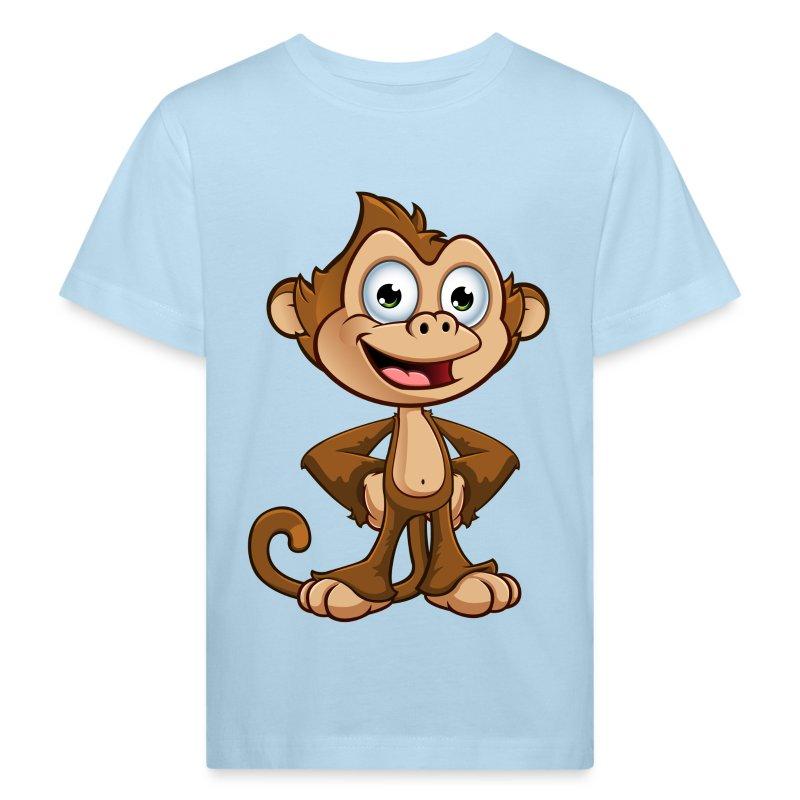 Cheeky Monkey - Hands On  - Kids' Organic T-shirt