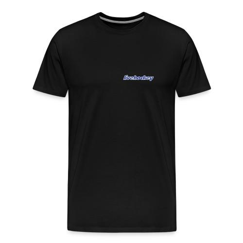 LH Herr Tshirt Litet tryck - Premium-T-shirt herr