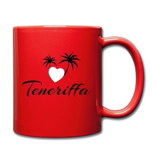 Teneriffa - Tasse - Tasse einfarbig