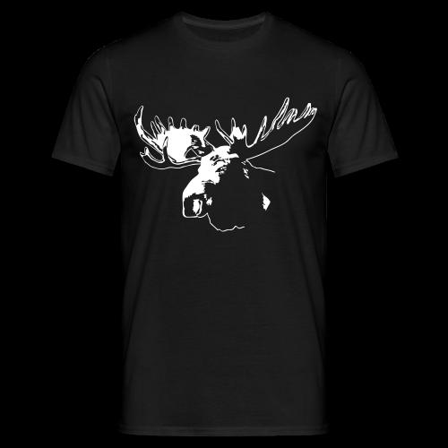 Elch - Moose - Männer T-Shirt