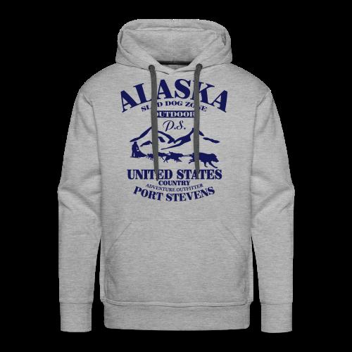 Sled Dog - Alaska - Männer Premium Hoodie