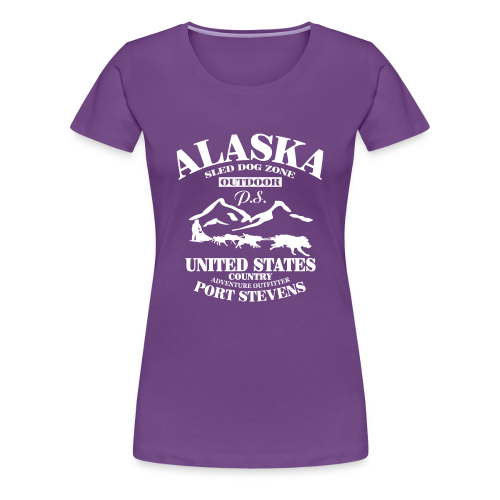 Sled Dog - Alaska - Frauen Premium T-Shirt