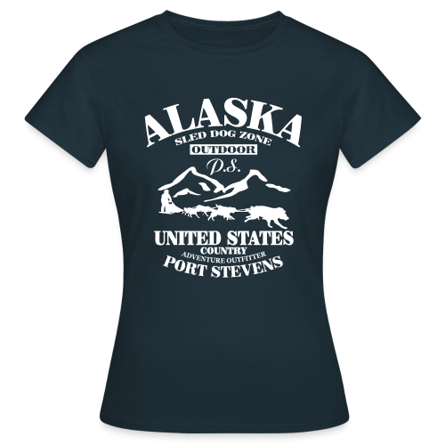 Sled Dog - Alaska - Frauen T-Shirt