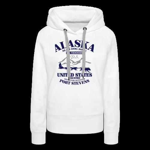 Sled Dog - Alaska - Frauen Premium Hoodie