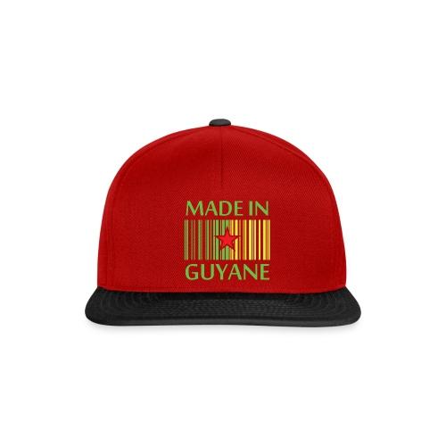 Casquette guyane - Casquette snapback