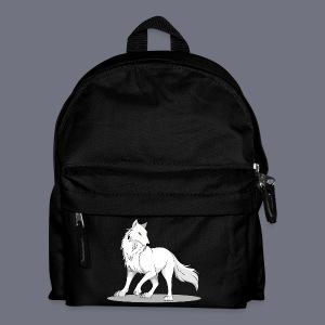 Kinder Rucksack mit Wolf - Kinder Rucksack