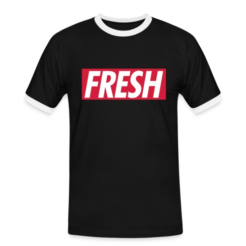 FRESH - OLD SKOOL T-SHIRT - Herre kontrast-T-shirt
