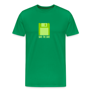 Save The Save - Green Code - Men's Premium T-Shirt