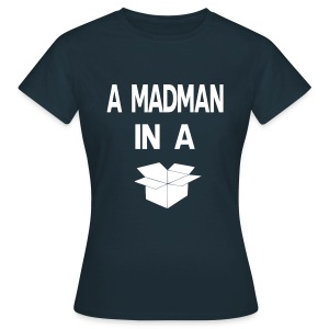 A Madman in a a blue box  T-shirts - T-shirt dam