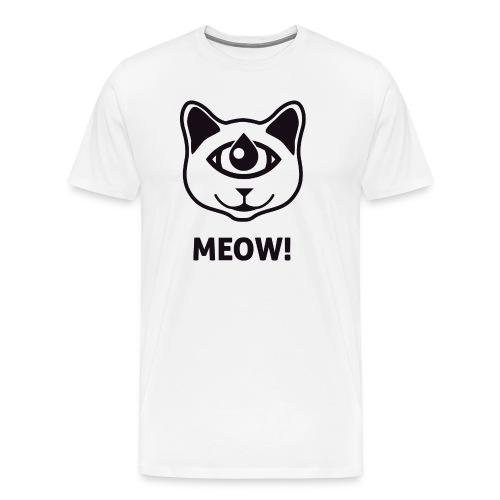 MEOW! - Miesten premium t-paita