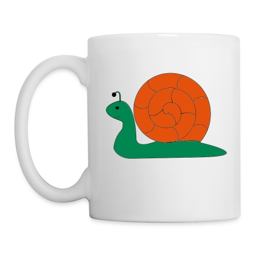 Schnecke Tasse - Tasse