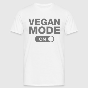 Vegan Mode (On) Camisetas - Camiseta hombre