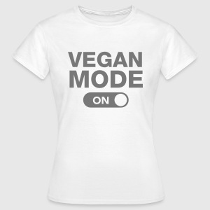 Vegan Mode (On) T-shirts - T-shirt dam