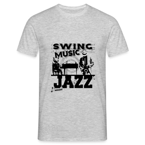 Swing Jazz Music - Men's T-Shirt