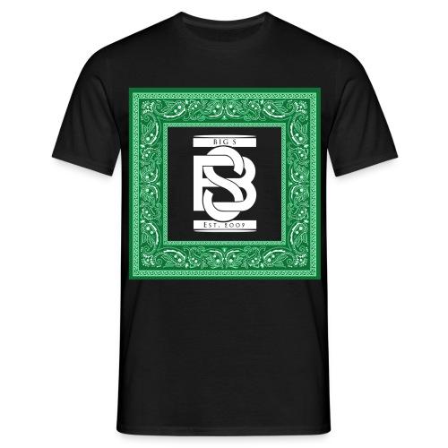 Big S Logo Bandana Style Shirt - Männer T-Shirt