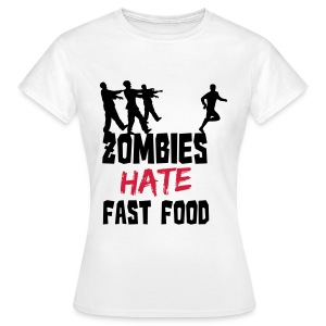 Zombie Fast Food - T-shirt Femme