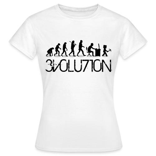 Evolution  - T-shirt Femme