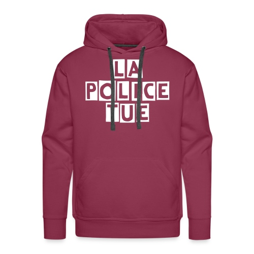 Sweat LA POLICE TUE - Sweat-shirt à capuche Premium pour hommes