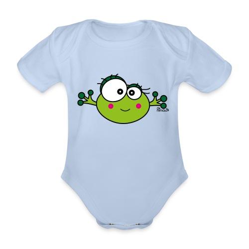 Body Bébé Grenouille F, Frog, nimalotshirts - Body bébé bio manches courtes