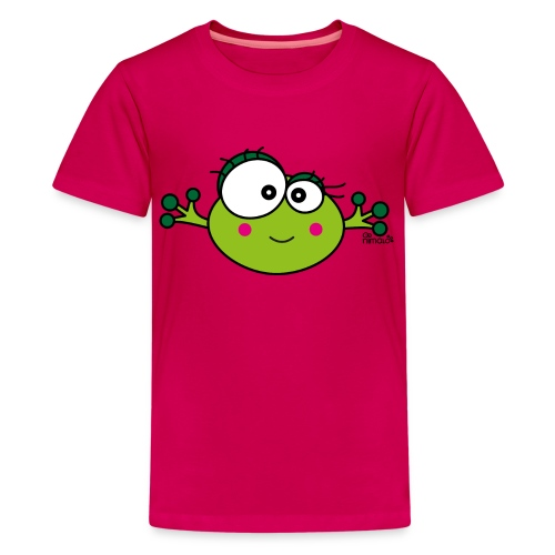 T-shirt Ado Grenouille F, Frog, nimalotshirts - T-shirt Premium Ado