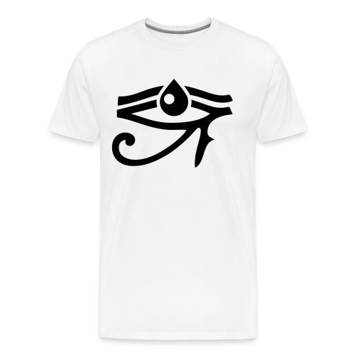 AMDES EYE - Miesten premium t-paita