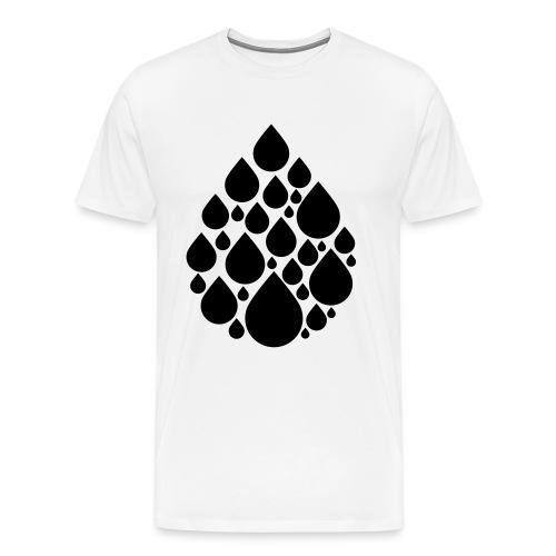DROP - Miesten premium t-paita