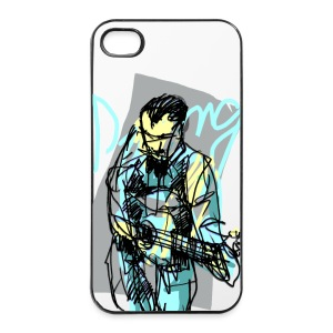 django rheinhardt - iPhone 4/4s Hard Case