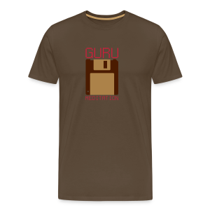 Guru Meditation - Floppy - Men's Premium T-Shirt