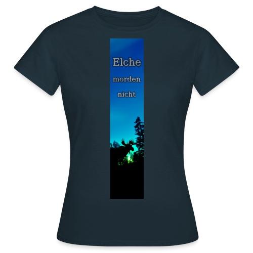 Riesen-Lesezeichen Elch - Frauen T-Shirt