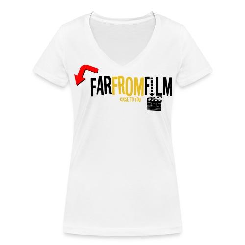 FarFromFilm - Women's Organic V-Neck T-Shirt by Stanley & Stella