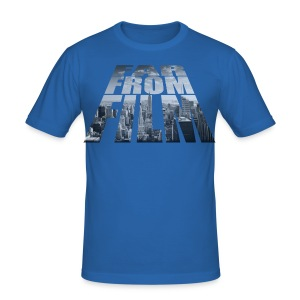 Far From New York - Men's Slim Fit T-Shirt