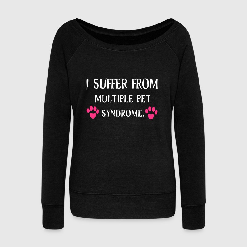 Animals Hoodies & Sweatshirts - Women's Boat Neck Long Sleeve Top