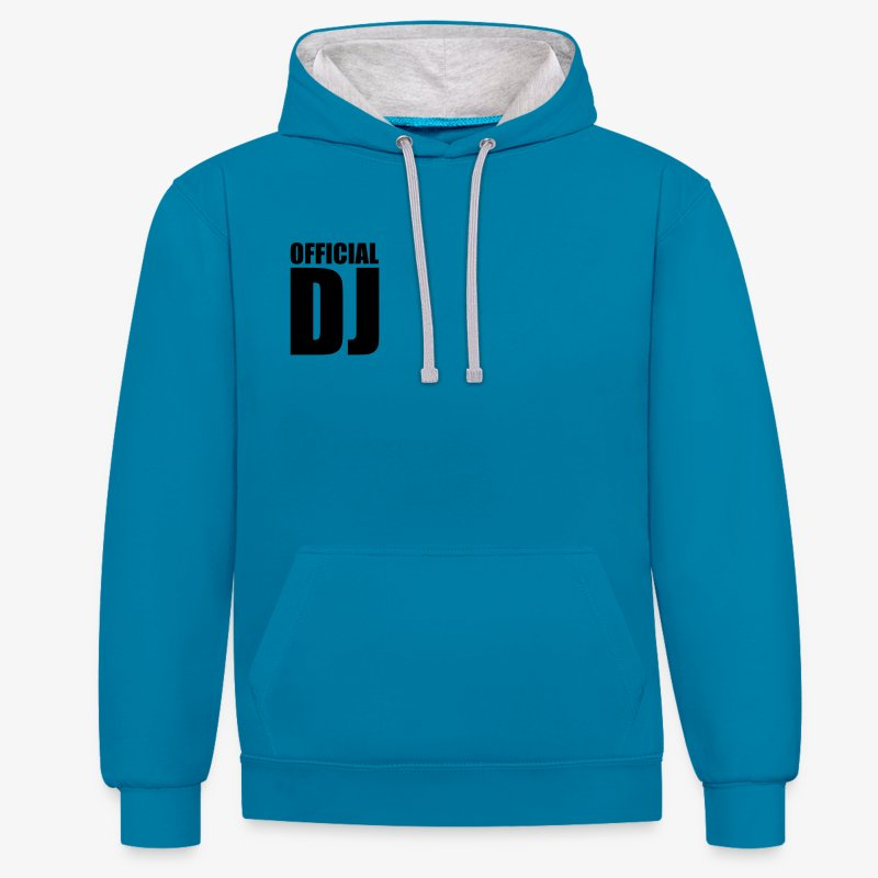DJ - Sweat-shirt contraste