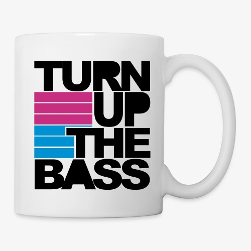 Turn Up The Bass - Tasse