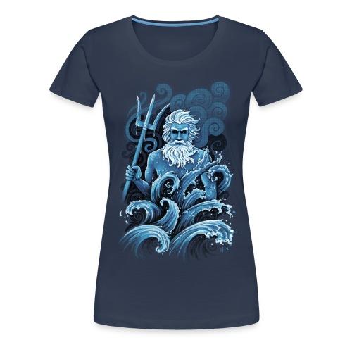 Poséidon - Women's Premium T-Shirt