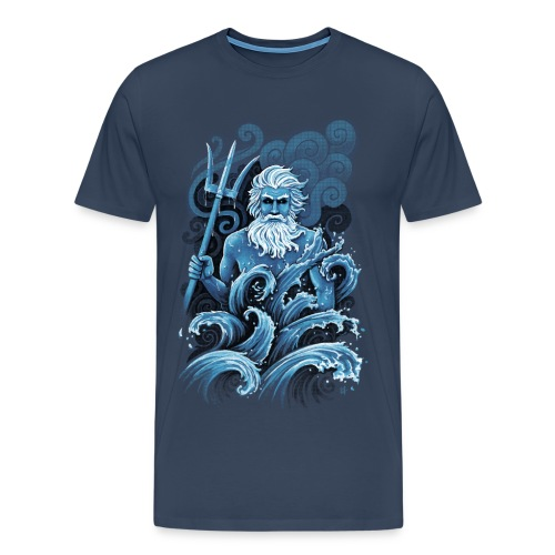 Poséidon - Men's Premium T-Shirt