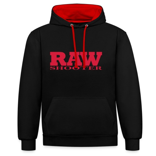 RAW SHOOTER - Contrast Colour Hoodie