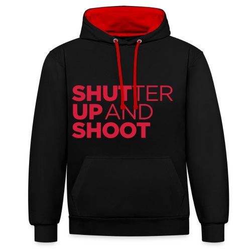 Shutter - Contrast Colour Hoodie
