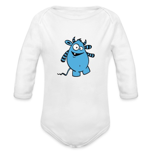 Knolle Basic - Baby Bio-Langarm-Body