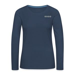 3000FRAUEN - Frauen Premium Langarmshirt