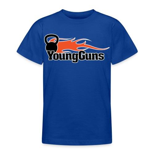 YoungGuns T-shirt (Ungdom 12-14 år) - T-shirt tonåring