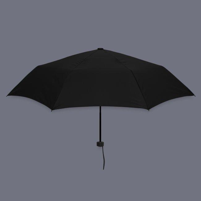 Regenschirm mit Schlangenkopf