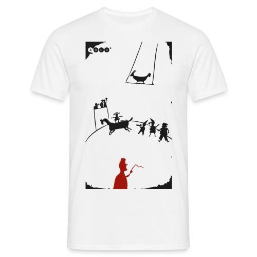 ZIRKUSMANN WHITE - Männer T-Shirt