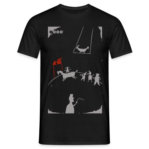 ZIRKSUMANN BLACK - Männer T-Shirt