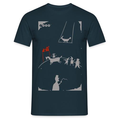 ZIRKUSMANN BLEU - Männer T-Shirt